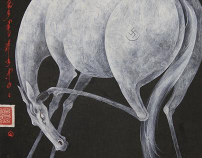 """Art work """"Horse"""""""