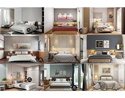 Diện tích phòng ngủ tiêu chuẩn là bao nhiêu m2