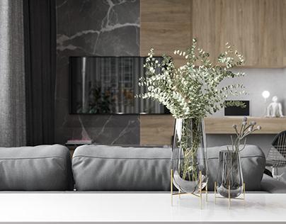 Studio apartment. Design @design.interior.life