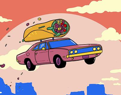 New York Times - Burrito Delivery Makes No Sense