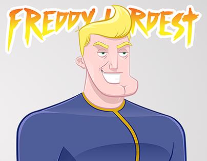 Freddy Hardest - Character Design