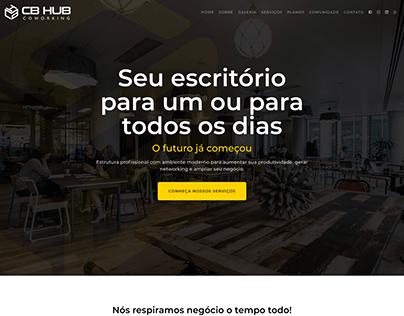 Website CB Hub Coworking