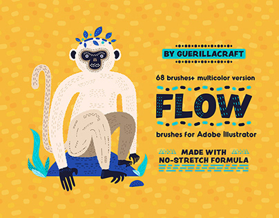 Flow Brushes for Illustrator