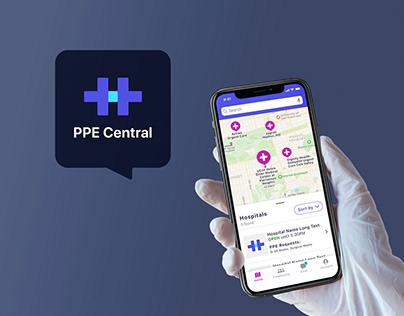 PPE Donation App Concept