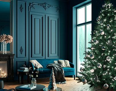 _CHRISTMAS LIVING ROOM_