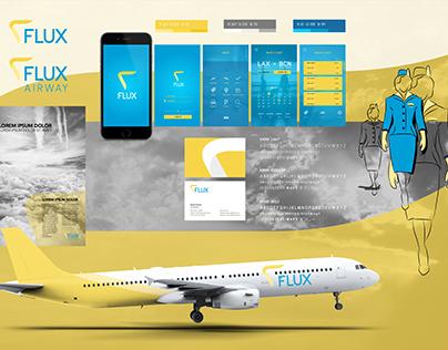 Flux - Airline Branding