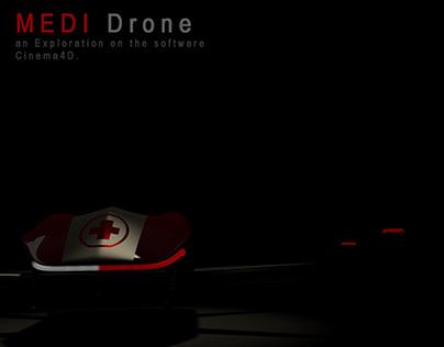 Medi-Drone, An Exploration on Cinema4D