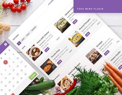 Food Menu WordPress Plugin for Restaurant Directories