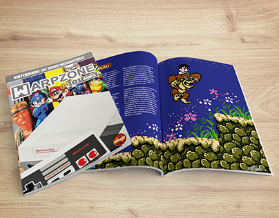WarpZone - 101 Games | Design de livro