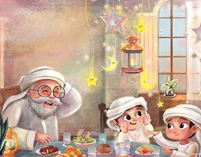 Ramadan Illustraion
