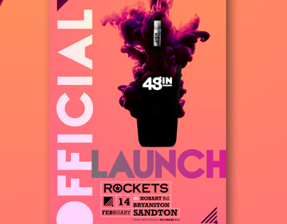48GIN Official Launch Design