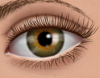 Olho   Arte Digital