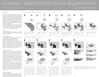 Pesquisa Esquemas Generativos de Formas Arquitetônicas
