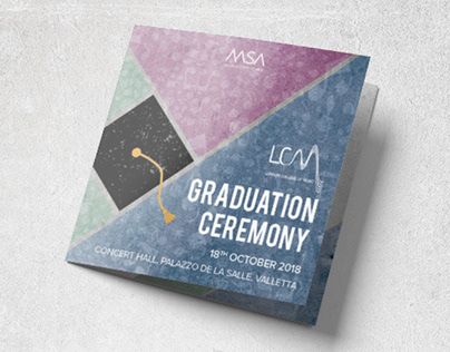 MSA 2018 Graduation Ceremony Brochure