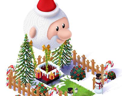 Christmas environment - Mobile Game