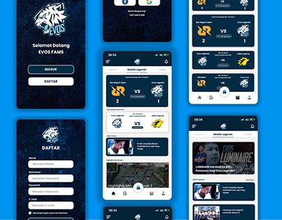 Exploration | Evos Esport Mobile Apps