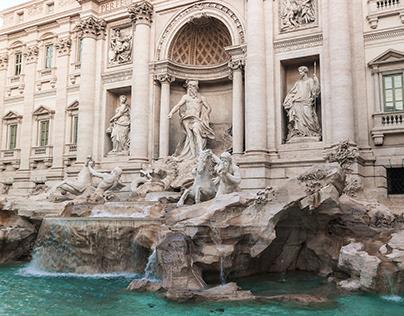 Aesthetic Trevi Fountain