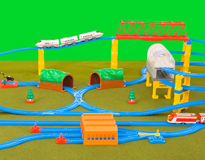 Tomy Toys Photo editing and clipping