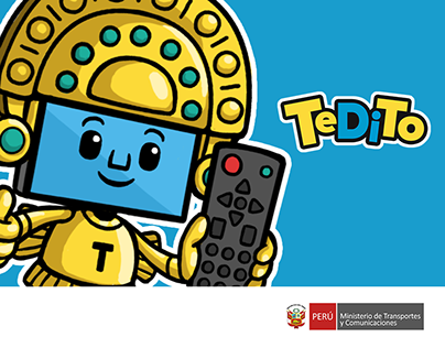 Tedito - Mascota de la Televisión Digital Terrestre