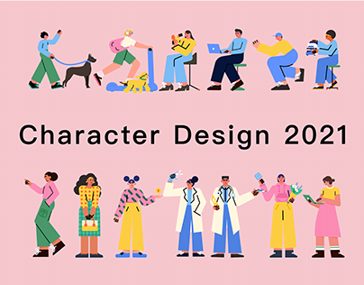 Character Design 2021