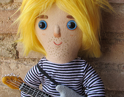 Tribute doll: Kurt Cobain