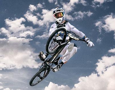 Portrait of a BMX  Champion