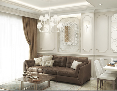 Apartment Design - Romantic style