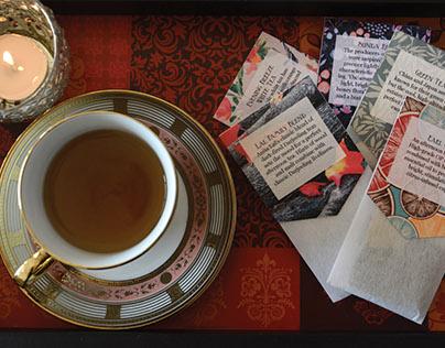 High Tea menu card