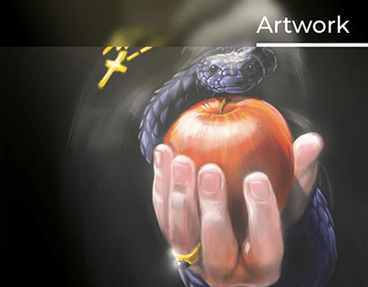 Priest with Heaven apple