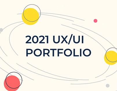 My Portfolio 2021 - UX/UI Design