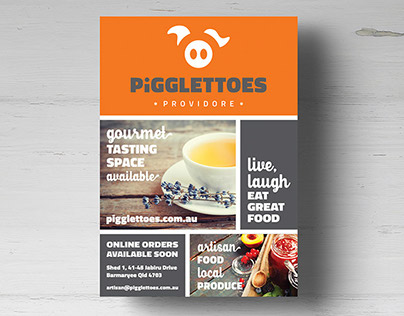 PIGGLETTOES PROVIDORE BRANDING AND WEBSITE DESIGN