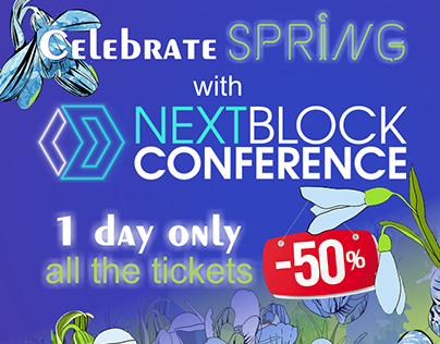 NEXT BLOCK conference banners ISRAEL