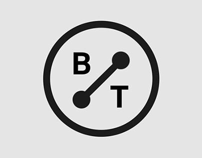 """BrandTrotter"" logo animation"