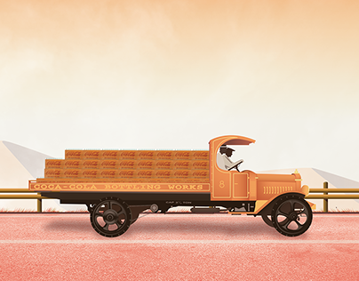 1921 AB Mack Truck | Illustration
