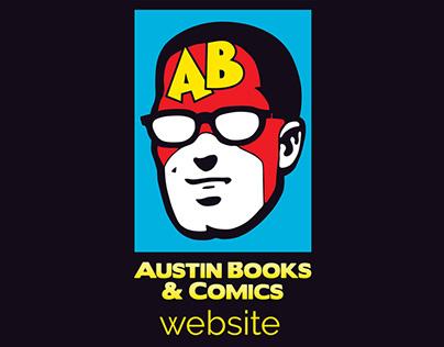 Austin Books & Comics website
