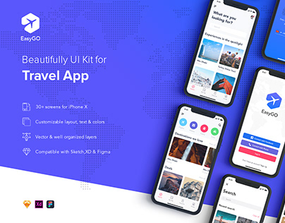 Taxi Booking App UI Kit on Behance