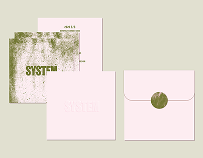 SYSTEM Paris Fashion Week Invitation