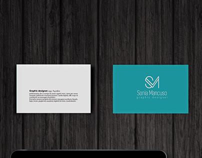 Sonia Mancuso graphic designer monogramma