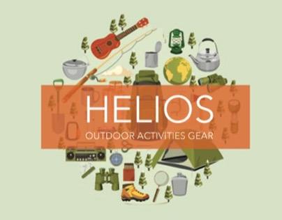 HELIOS: outdoor activities gear