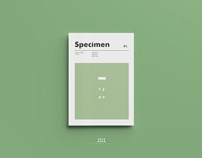 Specimen |