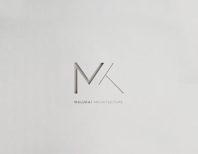 Malukai Architecture Logo & Visual Identity