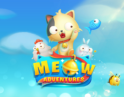 UI/UX MOBILE GAME: MEOW ADVENTURES