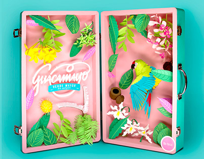 Siempre Silvestres: Great Green Macaw PaperCraft