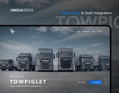 TowPiglet: Transportation & Logistics + SAAS