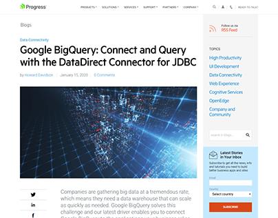 Google BiqQuery