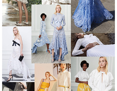 SS19 TEXTILE:  BRODERIE ANGLAISE