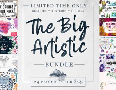 THE BIG ARTISTIC DESIGN BUNDLE