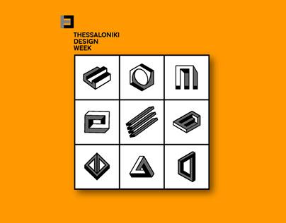 T-SHIRT & SOUVENIR IDEA FOR THESSALONIKI DESIGN WEEK