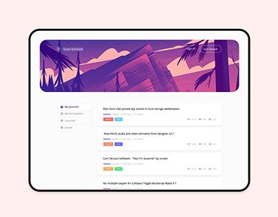 Forum: Questions & Answer Platform