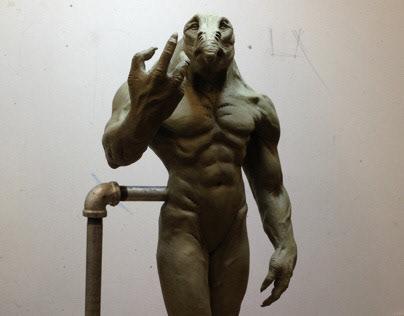 Humanoid Sculpture